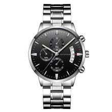 Мужские часы, модные спортивные часы, стальные, Топ бренд, Роскошные, Rolexable, водонепроницаемые, повседневные, кварцевые, наручные часы, Relogio ...(Китай)