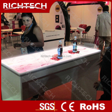 New design Bar/nightclub/home/party light interactive bar table