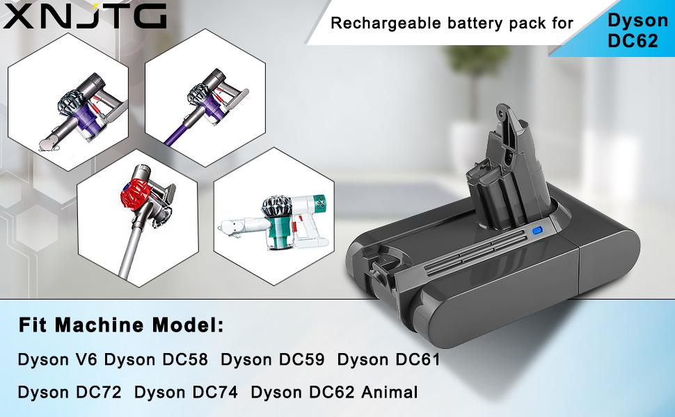 Купить аккумулятор для дайсон дс 62 гарантийный ремонт dyson в спб