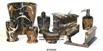 black and gold marble bathroom accessories buy bathroom