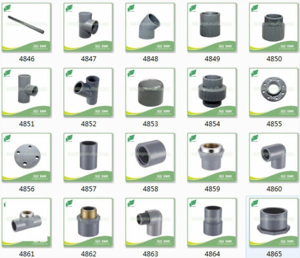 Cpvc Astm2846 Lbow Joint Pipe And Fittings Valves For