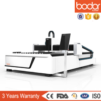top quality IPG 1000w laser cutting machine for sheet metal steel aluminum