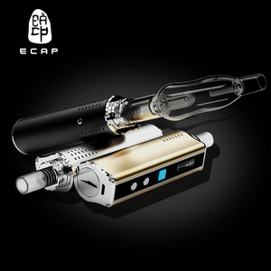 Perfect vaping e cigarette ecapple iv-1 of water filtrating glass bubbler pyrex pipes smoking
