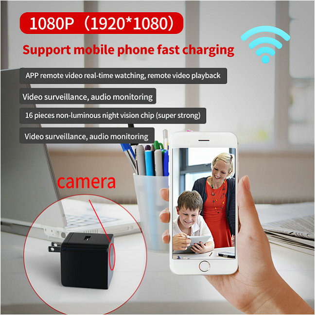 HD USB Power Charger Wifi Camera