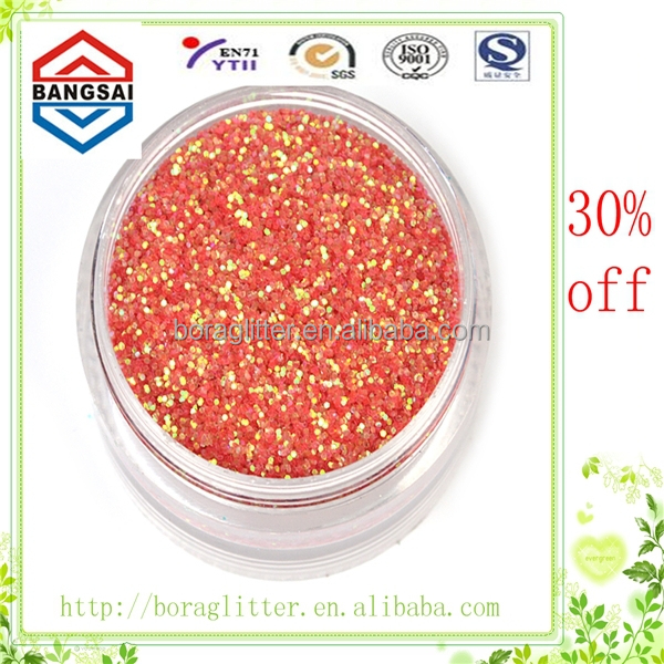 2015 discount bright mix glitter powder christmas decoration