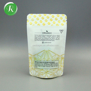 Newest Selling Custom Printing Glossy shiny foil plastic stand up clear heat seal seeds food packaging bag