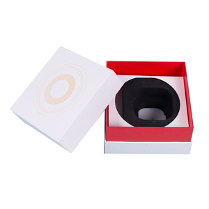 Square Paper Cardboard Box For Electric Small Items Mp3 Player Mobile Phone Power Bank Packaging
