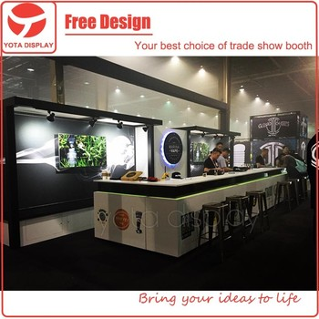 Yota Offer Exhibition Booth With Portable MaterialFashion Trade Show Display Stand For Shenzhen E