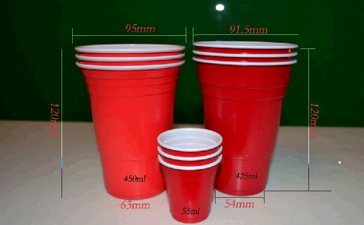 Disposable 16oz Red Cup / American Red Cups / Party Beer Red Cups ...