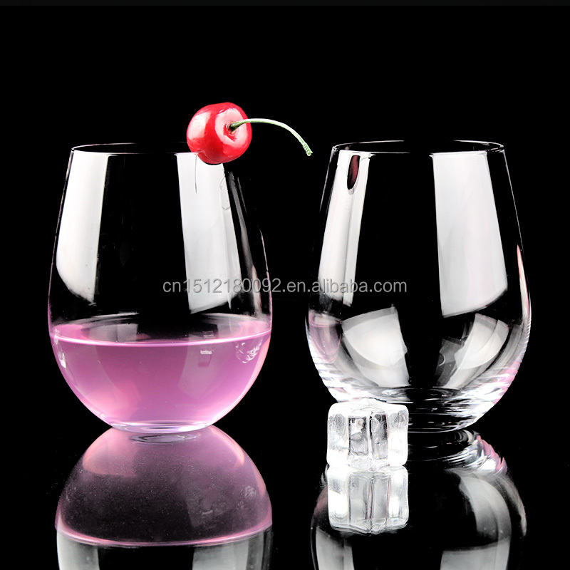 Anchor Hocking 22-Ounce 2-Piece Stemless Wine Glass Set New