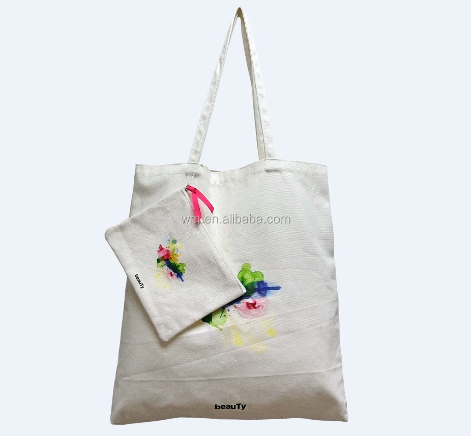 New arrival canvas toiletry bag&cotton tote bag
