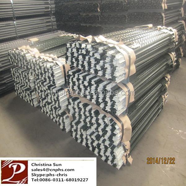 Galvanized Steel Ingot Distributor Belarus: L Type Farm Fence Metal Posts For Sale