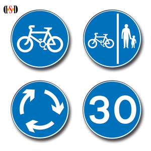 High quality outdoor lighted signs traffic control signs