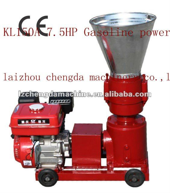 fish feed pellet machine diesel engine driven/gasoline engine drive