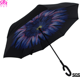 New invention full printing upside down manual open reverse umbrella
