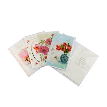 China selling beautifully printing birthday invitation Greeting card
