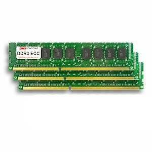 24GB Kit for Apple Mac Pro (4,1) (5,1) (3 x 8GB) DDR3-1066 PC3-8500 ECC 240 Pin DIMM's MB983G/A x 3