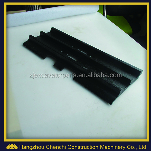 rubber track pad , crawler excavator undercarriage parts