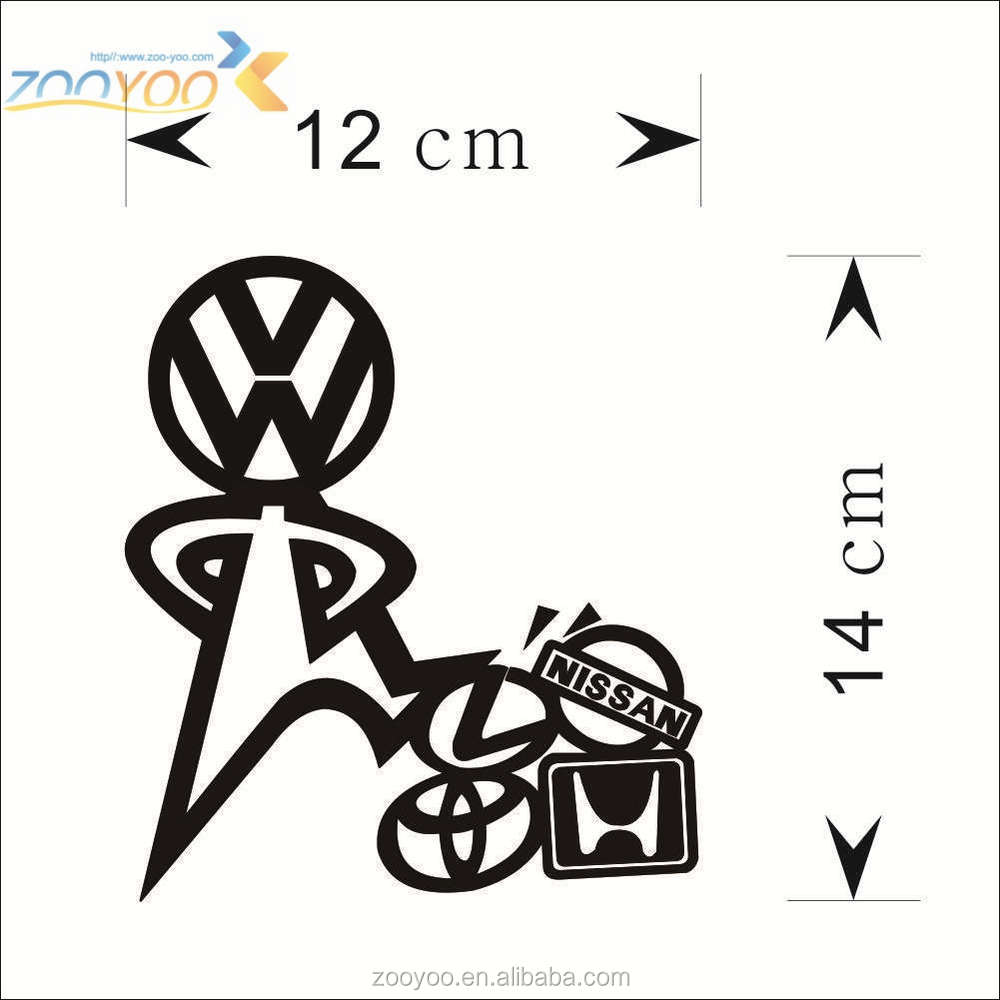 Car stickers design hd - Vinyl Car Srickers Zooyoo Art Vinyl Sticker For Car Removable Car Sticker Design Car Decoration