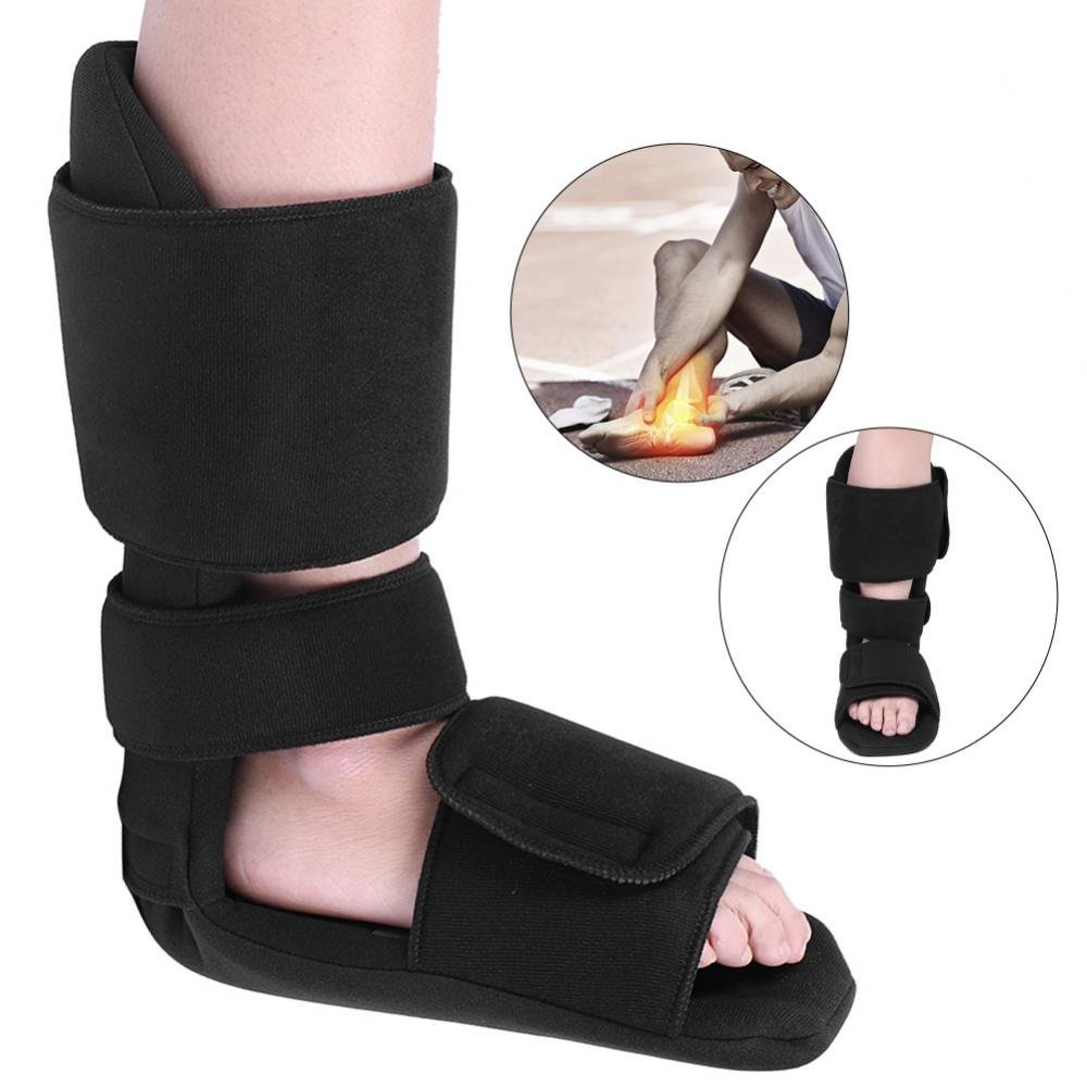 ZJchao Foot Stabilizer Orthosis, Adjustable Foot Drop Orthosis Ankle Postural Corrector Brace Correction Night Splint