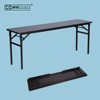 China Supply Cheap Wooden Top Metal Frame Folding Training Table
