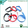 Strong Dog Lead Leash and Dog Collar Nylon Set Pet Lead for Walking