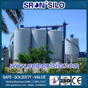 SRON Brand Lipp cement Silo for clinker cement production line for sale