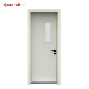 Recording studio sound proof soundproof door with glass window