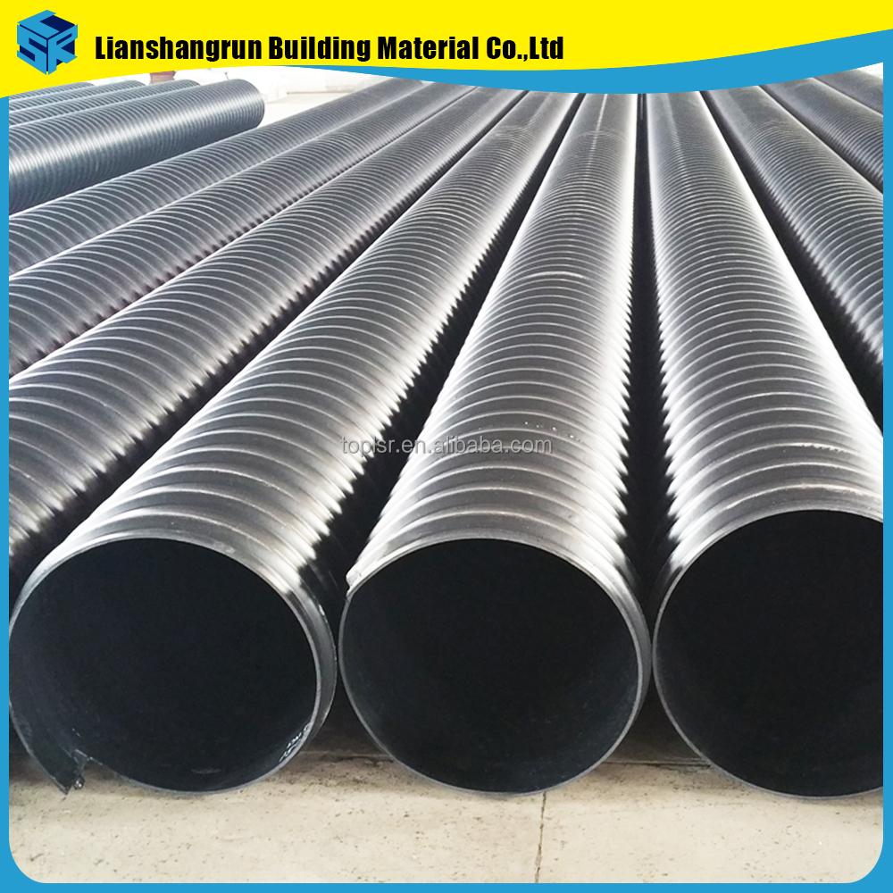 Hdpe Corrugated Steel Belt Tube Large Diameter Plastic Reinforced ...