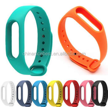 Wholesale Replace Strap for Xiaomi Mi Band 2 MiBand 2 Silicone ...