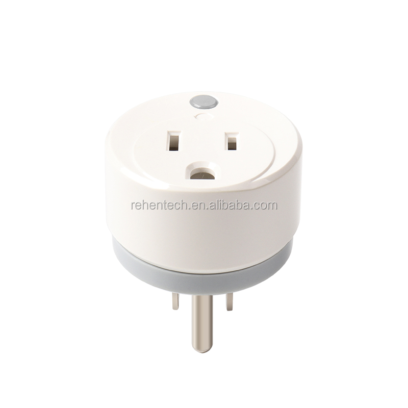 Amazon Echo Google Home WIfI Smart <strong>Plug</strong> in Power Socket Mini US Socket with Timer