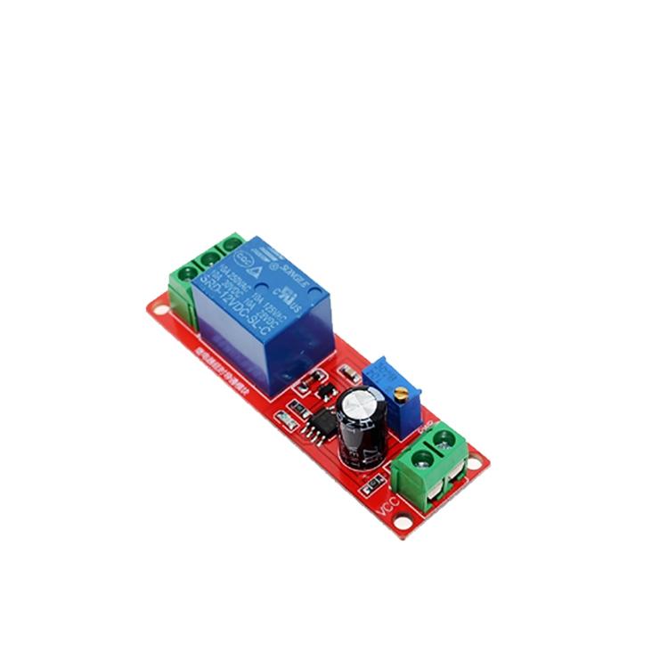 Ne555 Timer Switch Adjustable Module Time Delay Relay Module Dc 12v Delay  Relay Shield 0~10s - Buy Adjustable Module,Ne555,Time Delay Relay Module