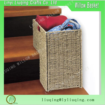 Gentil Good Quality Seagrass Stair Basket Step Basket Wicker Basket For Corner    Buy Seagrass Stair Basket,Wicker Corner Basket,Step Basket Product On ...