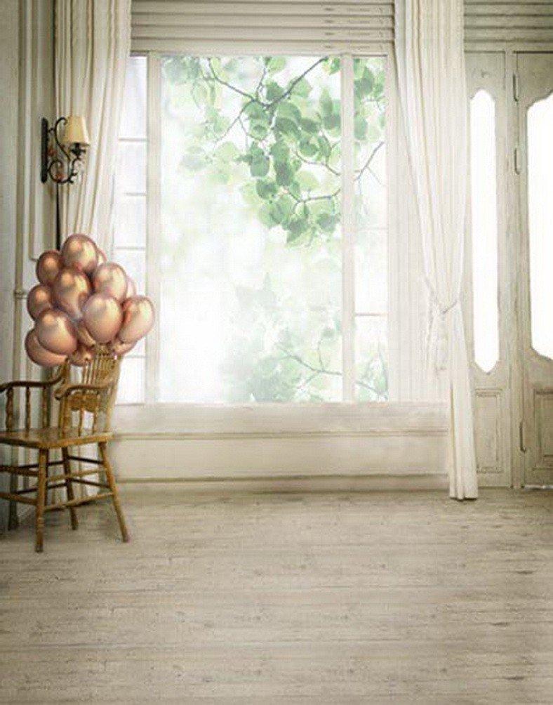 Buy Amonamour 5x7ft Cloth Vinyl Indoor Room Scene Window