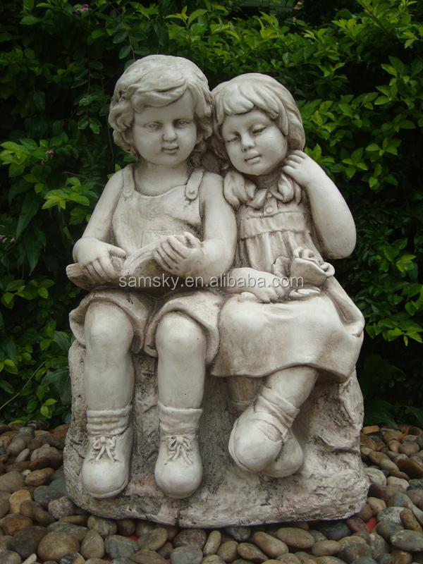 Garden Items Statues Boy And Girl Garden Statue