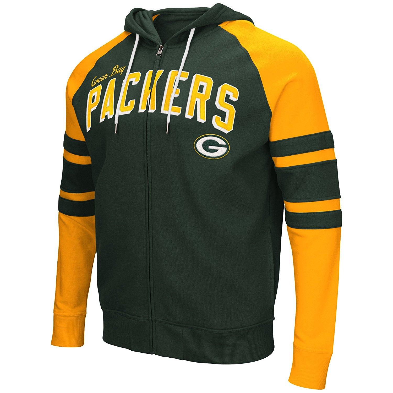 Green Bay Packers Men s Long Sleeve Stadium Hoodie   Hooded Sweatshirt 6c563ac57