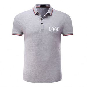 Hot Sell Anti-Shrink Cultural And Sports Activities Washed Cotton 95% Cotton 5% Spandex Polo T-Shirts