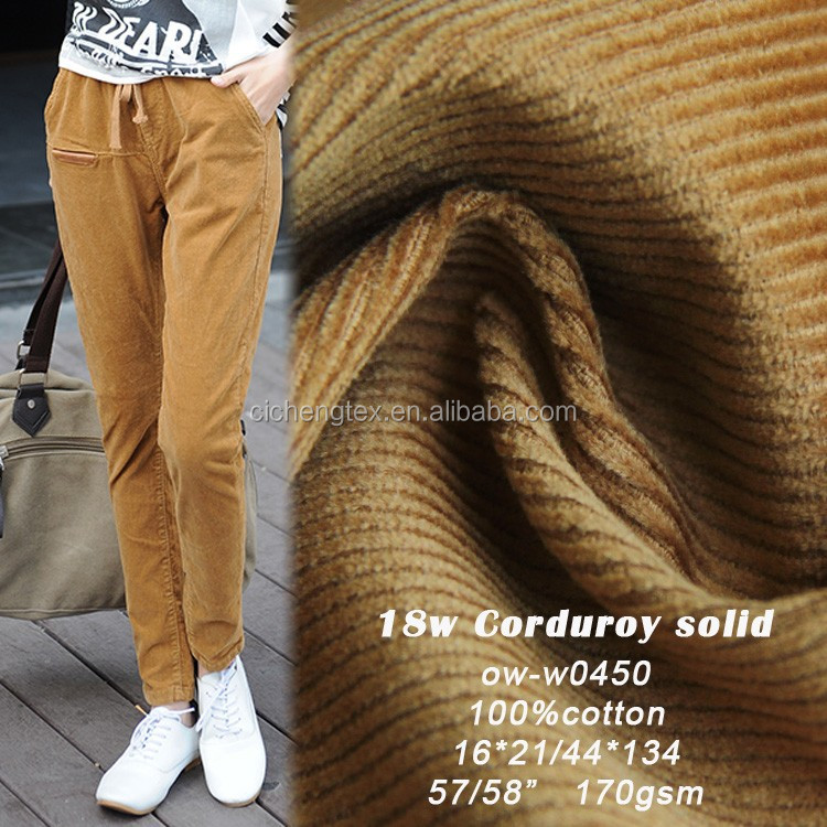 wholesales 14 wales pinwale corduroy fabric