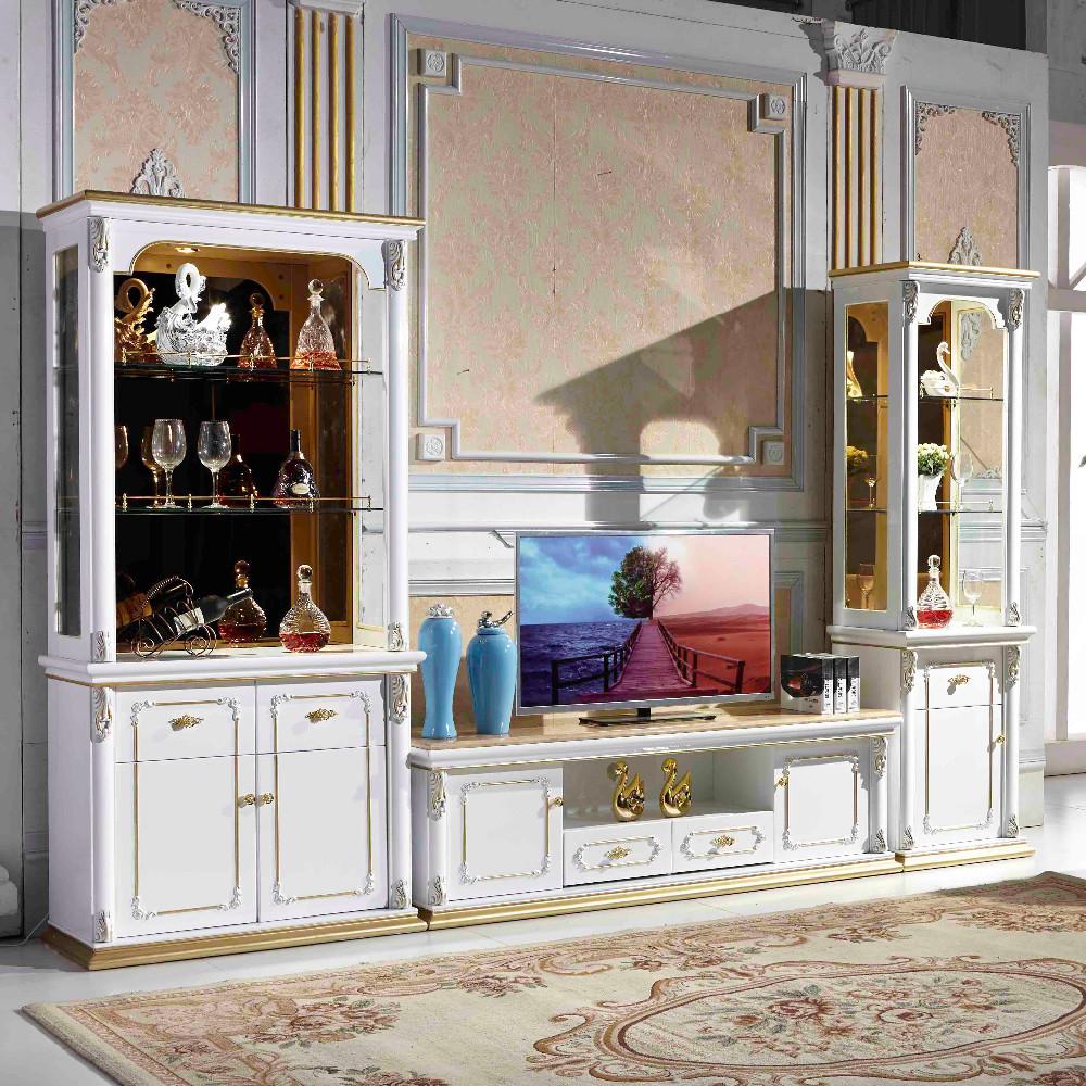Top china modernes design wohnzimmer holz design wand einheit tv ...