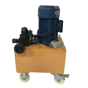 Concrete construction prestressed small electric hydraulic oil pump pump high pressure to pistons
