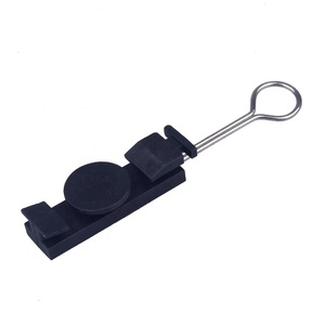 Telecom Plastic Drop Wire Cable Suspension Clamp for FTTH Cable