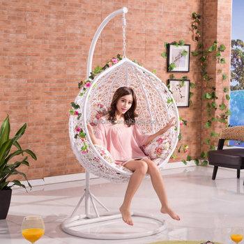 Merveilleux One Person Rattan Swings