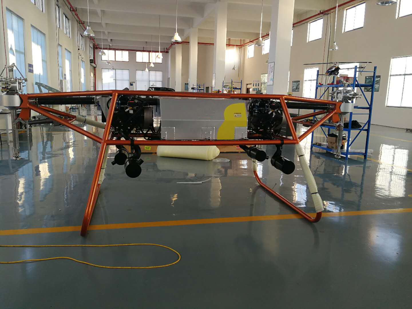 Large Load Unmanned Helicopter Large Voyage Multi Application UAV XTIS Series