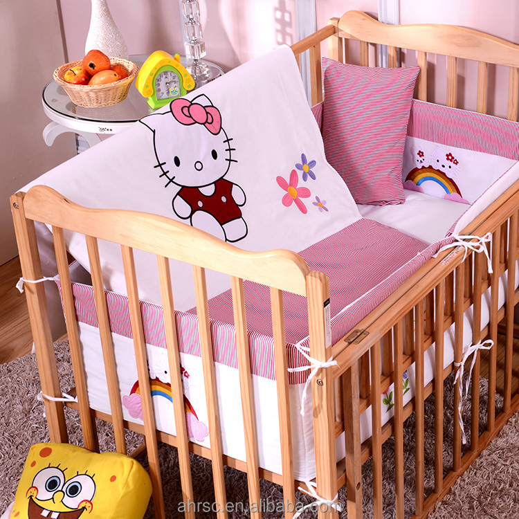 quilt kinderbett sto f nger blatt baby bettw sche set bettzug produkt id 60468948622 german. Black Bedroom Furniture Sets. Home Design Ideas