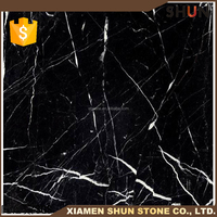 Cheap and high quality Chinese black and white marble tiles,polished marble black and white tiles