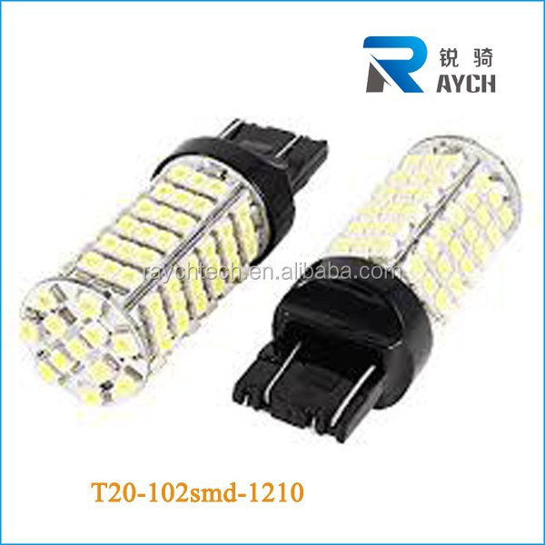 7740 7743 T20 1210 102smd car LED Lights, Bulbs & LED Lighting Accessories - SUPER BRIGHT