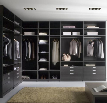 Double Color Wardrobe Design Furniture Bedroom Walk In Closet
