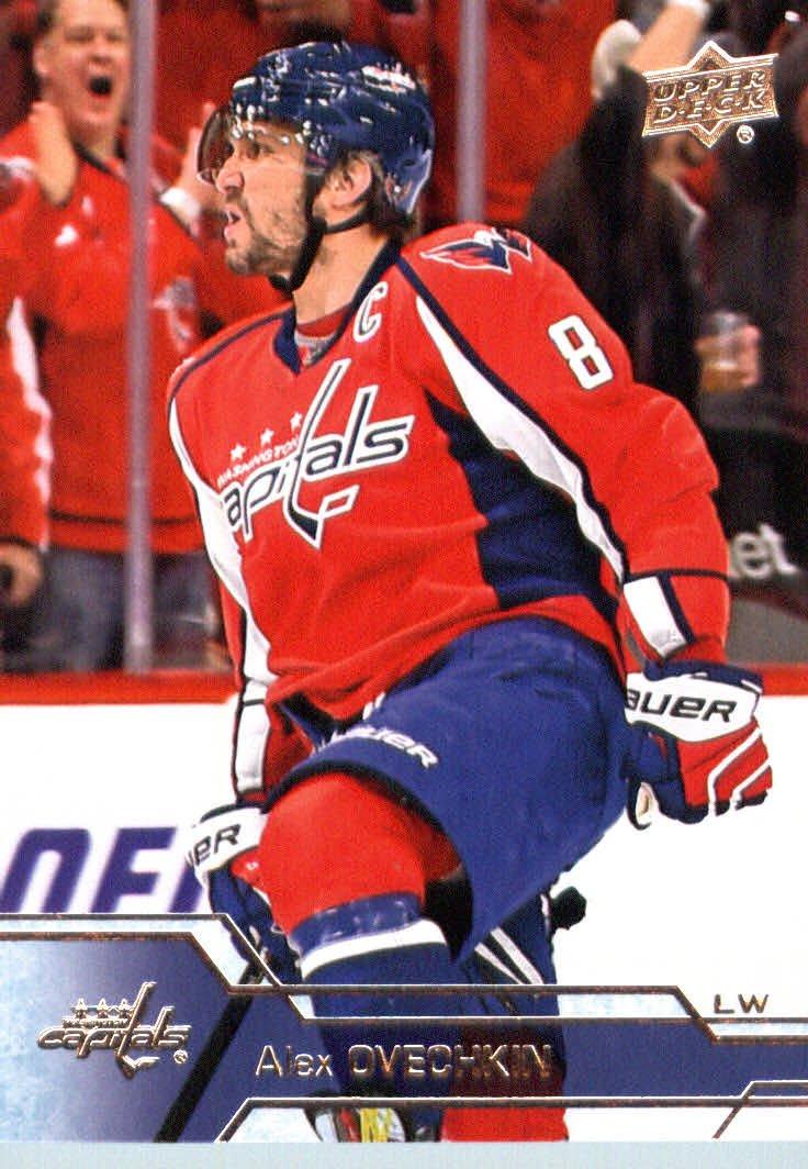 2016-17 Upper Deck Series 1 #184 Alexander Ovechkin Washington Capitals Hockey Card