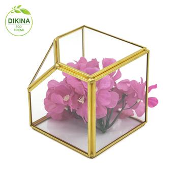 Block Crystal Round Glass Vase Roundfish Bowl Designthick Lead