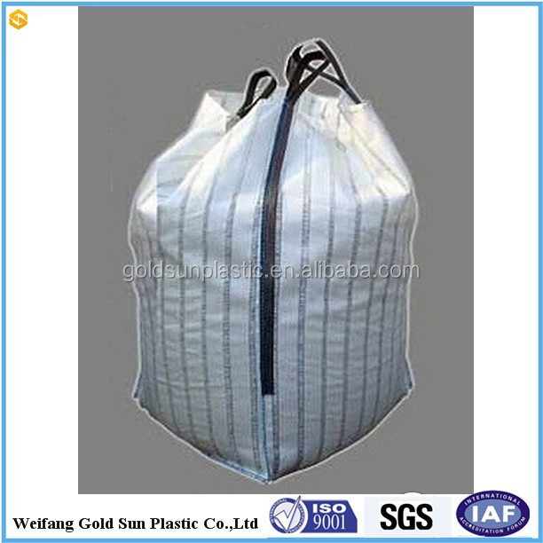 breathable pp woven big Bag/FIBC for Firewood Packing/Potato Ventilated Big Bag ,transparent pp jumbo bag